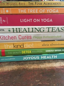 Some Favourite Yoga & Nutrition Books